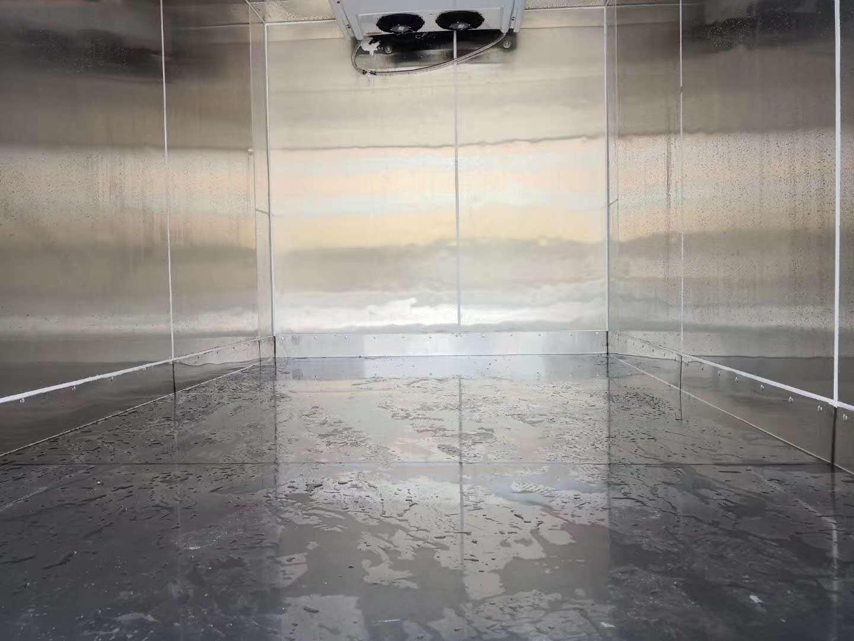 福田3.7米厢体冷冻肉冷藏车价格图片图片