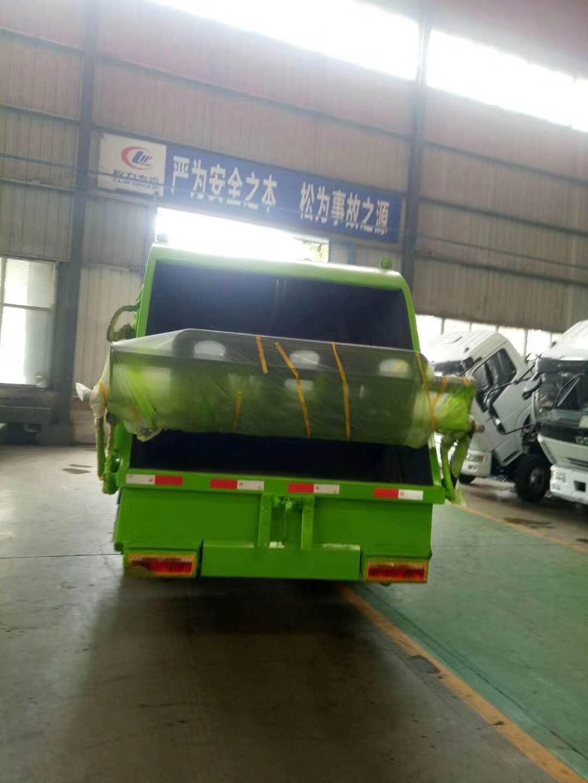 东风5方8方后装压缩垃圾车图片图片