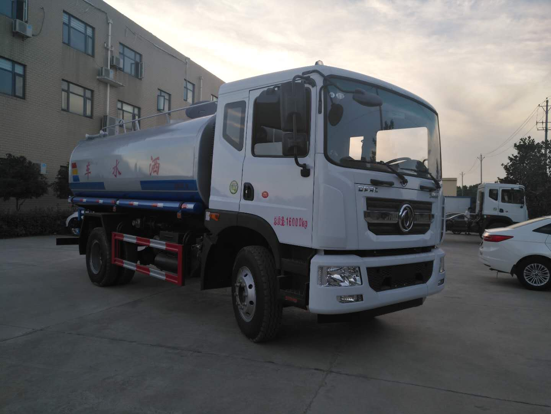 最畅销的东风D9 12吨雾炮车带大平台