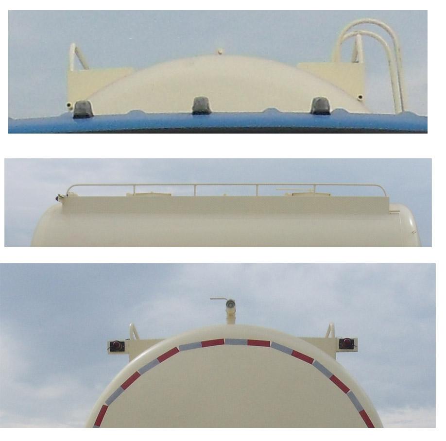 CSC5168GFLE5型低密度粉粒物料運輸車2