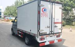 2.7米长安国五冷藏车
