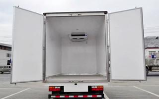 大运1835单排冷藏车价格便宜,厂家直销,程力专销