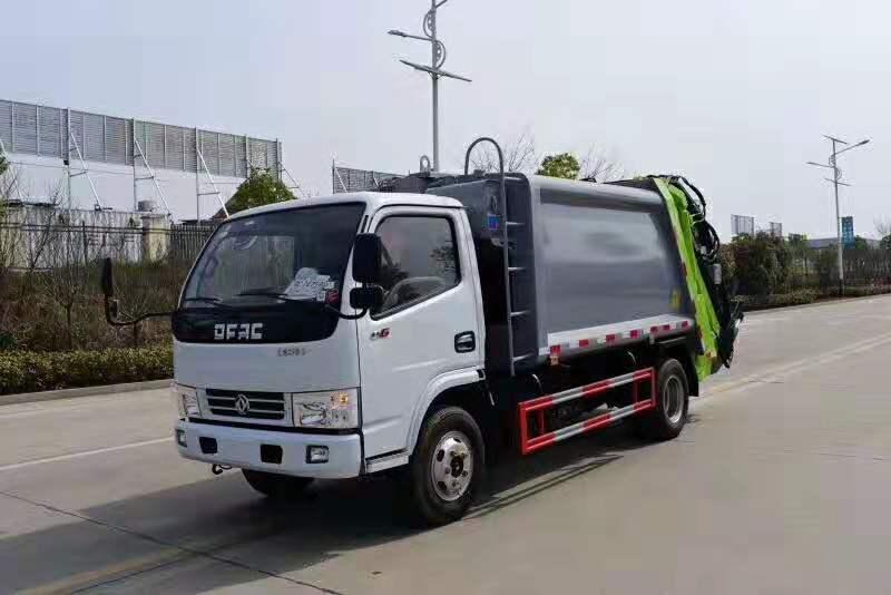 东风多利卡16台压缩垃圾车5