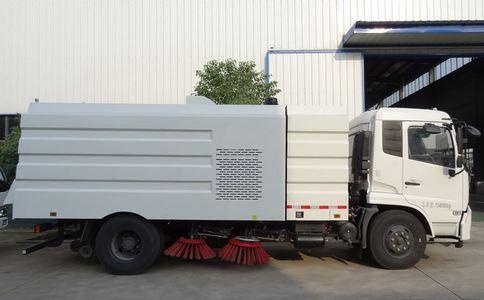东风天锦8吨扫路车,道路清扫车,扫路车厂家报价视频