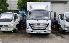 福田欧马可 新款S3冷藏车  价格多少