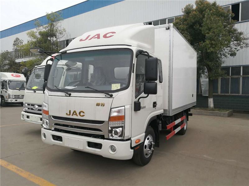 江淮蓝牌冷藏车厂家保鲜食品的运输车冷藏车配件售后保养