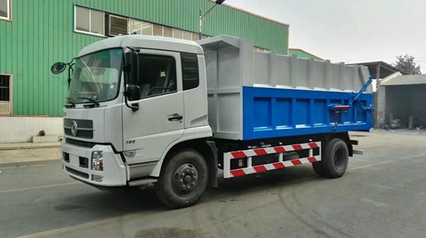 东风天锦压缩式对接垃圾车厂家大促销图片