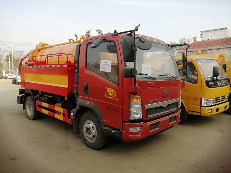 6吨高压清洗车,管道联合疏通车,多功能高压清洗车厂家图片