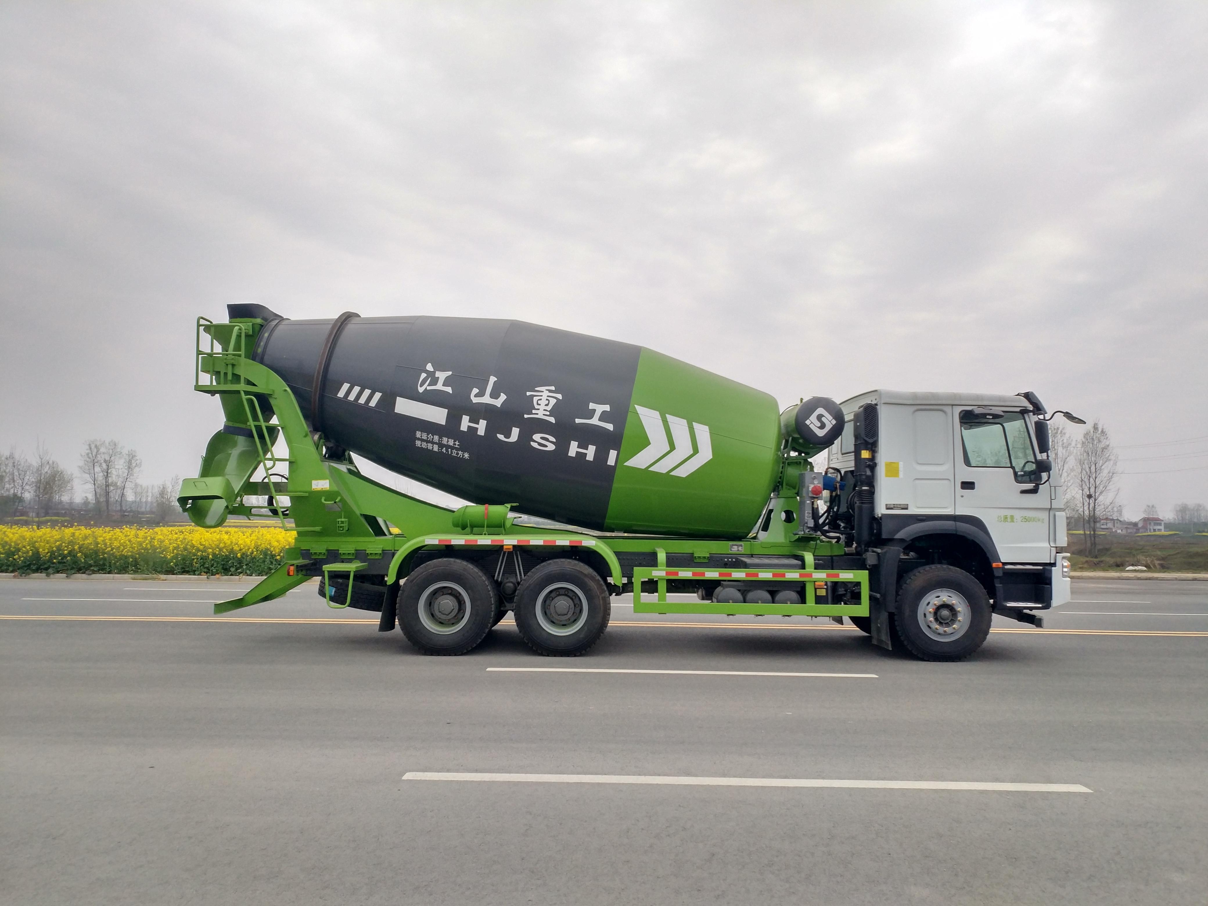 【4-15方】混凝土运输车搅拌车的价格和品牌