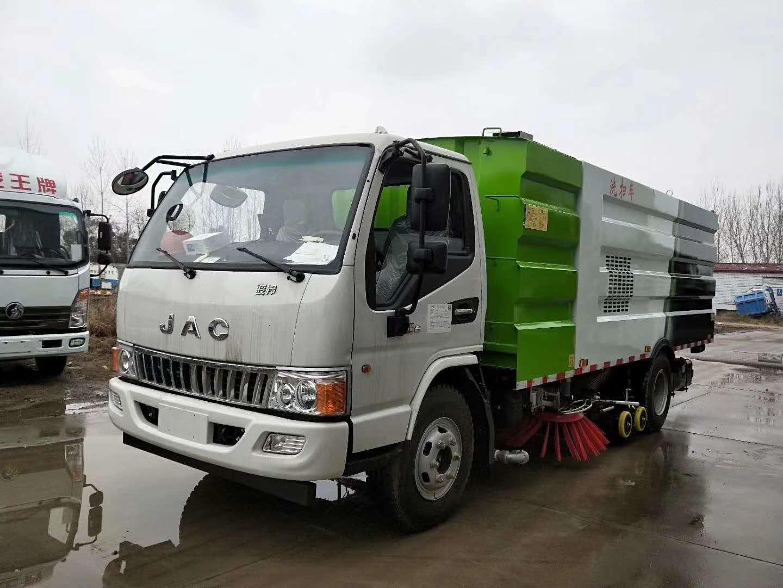 江淮8吨洗扫车