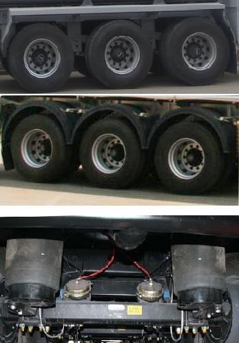 SLS9401GYYA型铝合金运油半挂车图片