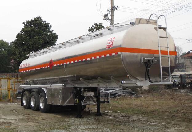 SLS9401GYYC型铝合金运油半挂车1