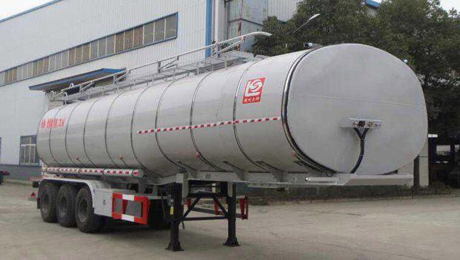SLS9401GSY型食用油运输半挂车