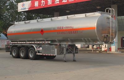 CLW9403GYYALV型铝合金运油半挂车