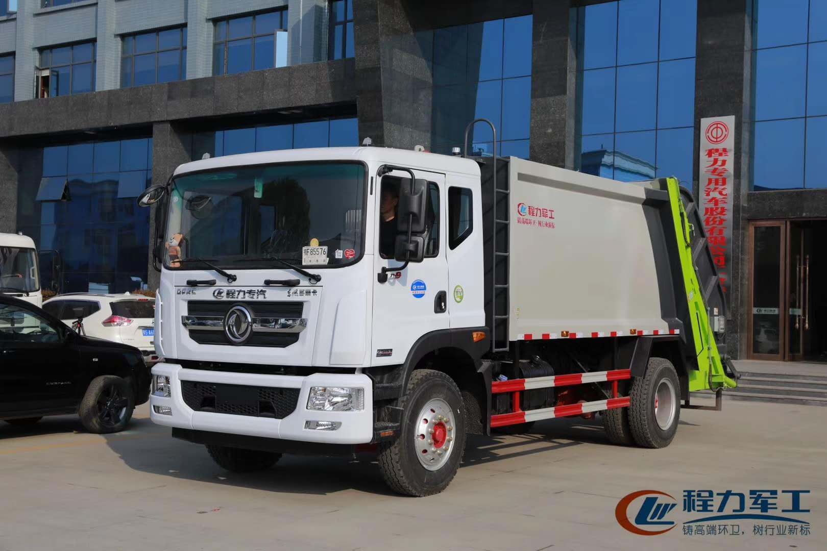 东风12吨压缩垃圾车多少钱?哪里有卖
