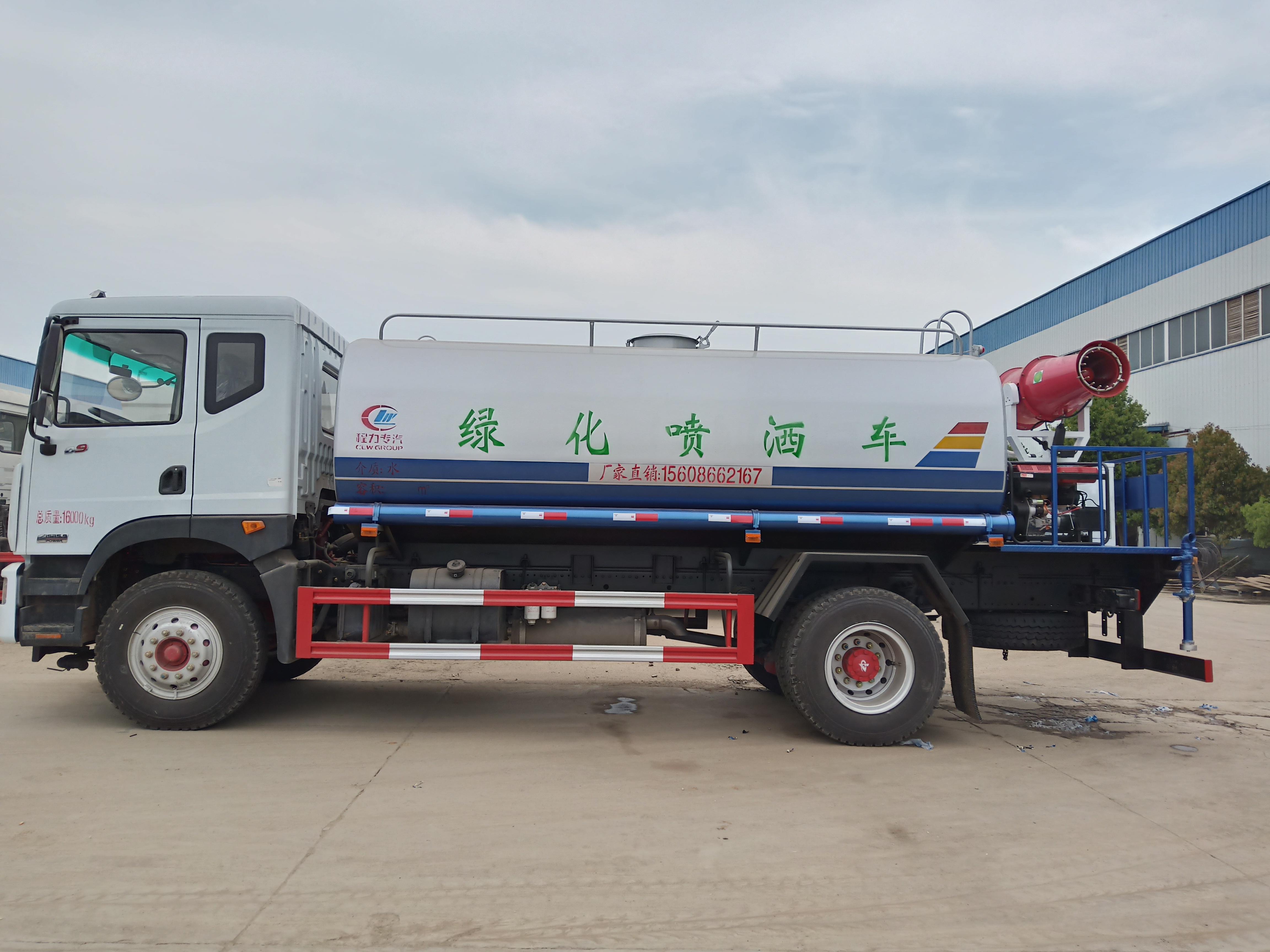 东风 D9雾炮洒水车配30米柴油雾炮,8.5KW