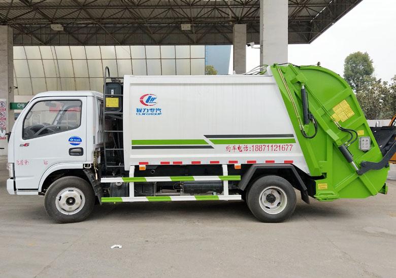 6方壓縮垃圾車(東風小多利卡)_高清圖片