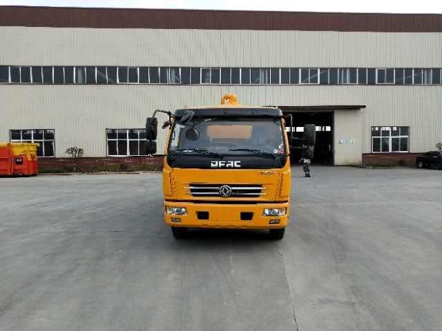 重庆东风10吨清洗吸污车厂家价格是多少钱一辆图片