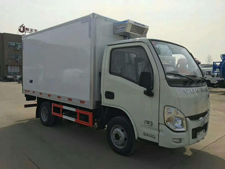 跃进小福星3.2米厢体水果牛奶保鲜冷藏车厂家价格