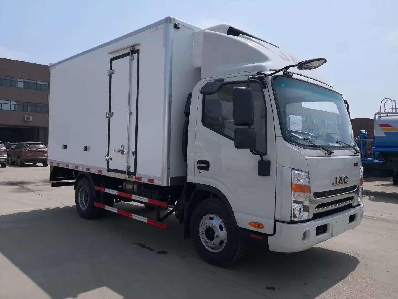 江淮4米厢体冷藏车水果蔬菜冷藏运输车厂家价格