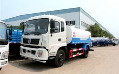 重庆东风12吨洒水车报价表 12方洒水价格厂家最低多少钱