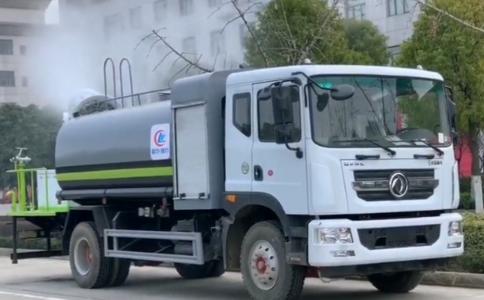 品牌雾炮洒水车程力厂家视频