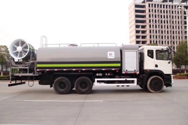东风D9大型抑尘车,抑尘距离100米图片