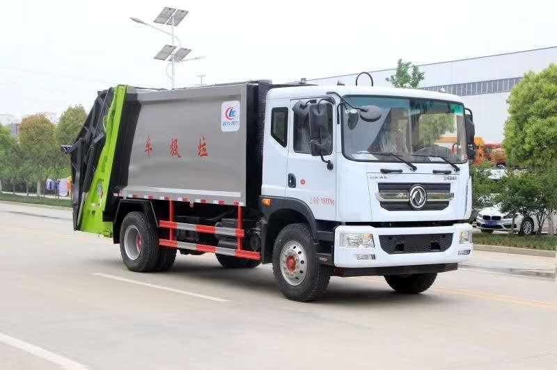 东风多利卡D9_12吨压缩式垃圾车