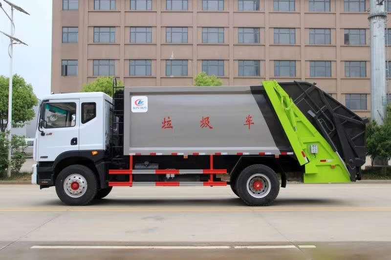 东风多利卡D9_12吨压缩式垃圾车图片