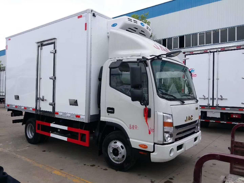 广州医用垃圾转运车 深圳医疗废物转运车 江淮4米2冷藏车(图1)