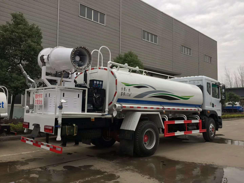 新中绿10吨抑尘车效果不比中联差 现车特价视频