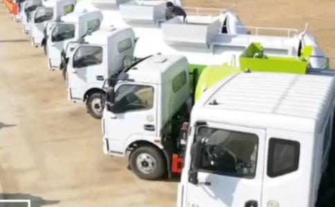 各种型号餐厨垃圾车和垃圾车价格视频视频