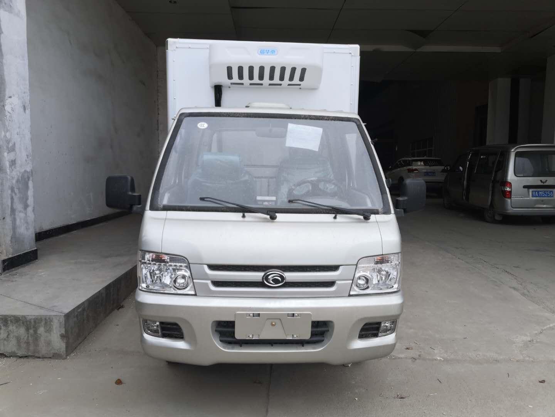 性价比超高福田驭菱2.6米蓝牌冷藏车冷链运输车图片