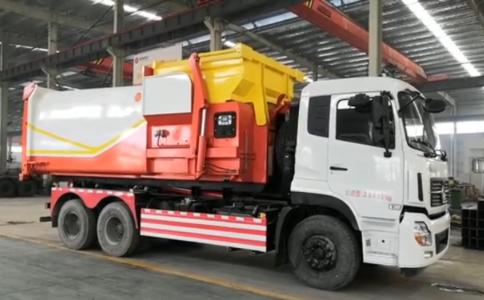 新中绿东风12吨压缩垃圾站有哪些优点视频