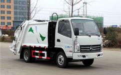 蓝牌3-4方压缩式垃圾车配置 出厂价格特优惠