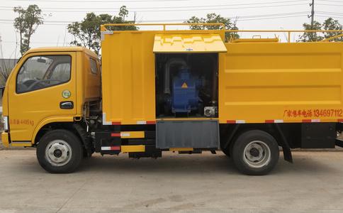 湖北污水处理车生产厂家东风多利卡污水处理车