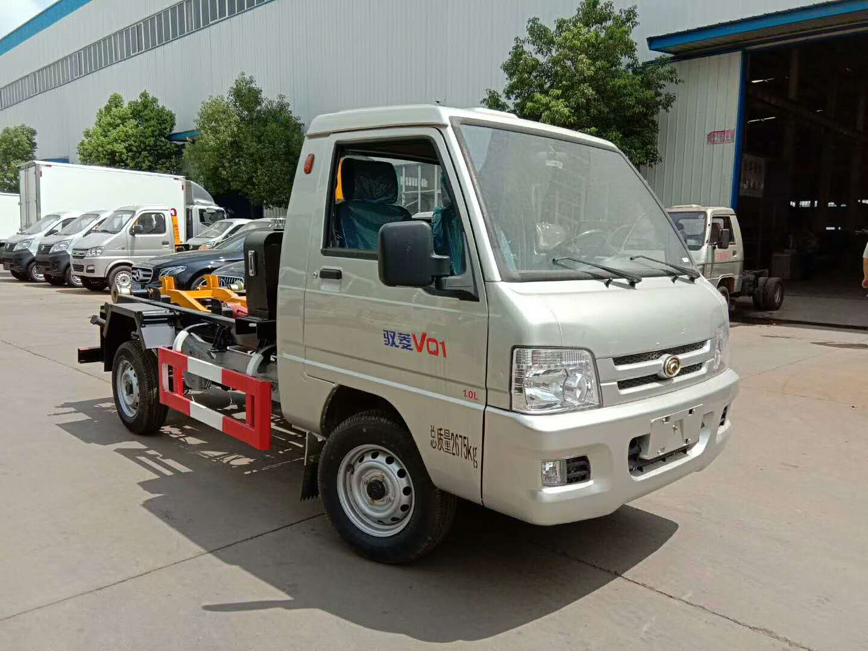 福田驭菱3吨车厢可卸式垃圾车图片