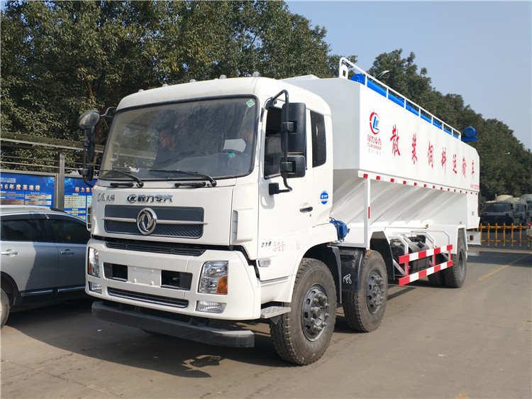 15吨东风散装饲料运输车全方位图