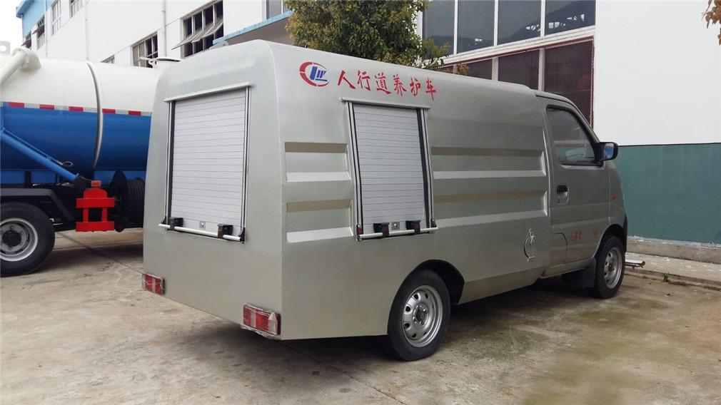 东风小康道路清洗车图片