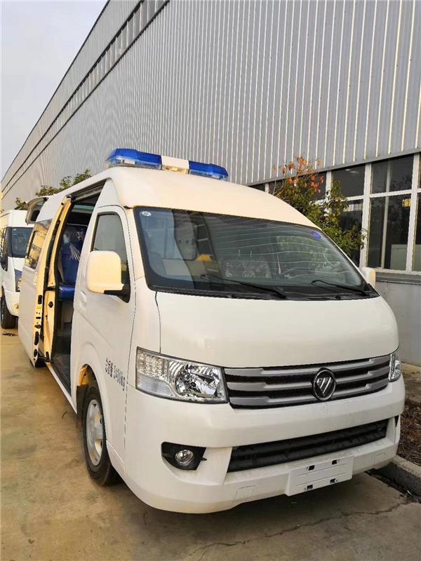福田G9汽油监护型救护车图片