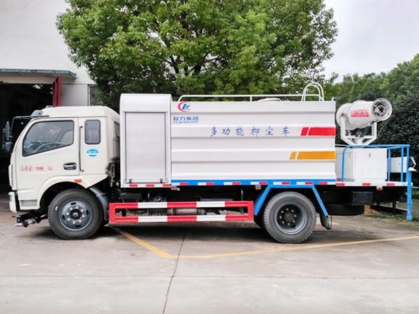 國五東風大多利卡10噸抑塵車價格霧炮車30米