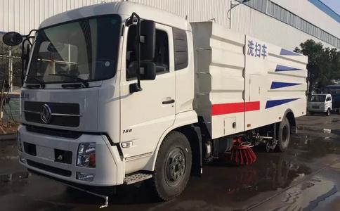 东风天锦16方洗扫车价格 厂家发车前视频视频