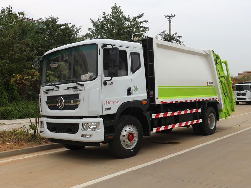 东风D9压缩垃圾车价格-参数-资料图片
