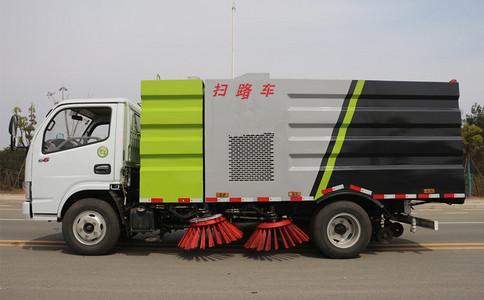 东风3吨小型扫路车配置有哪些?厂家为你解说!