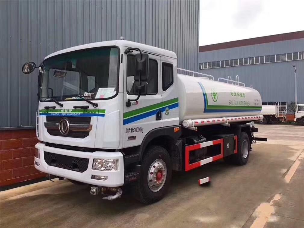 東風新款D9 12噸綠化灑水車圖片