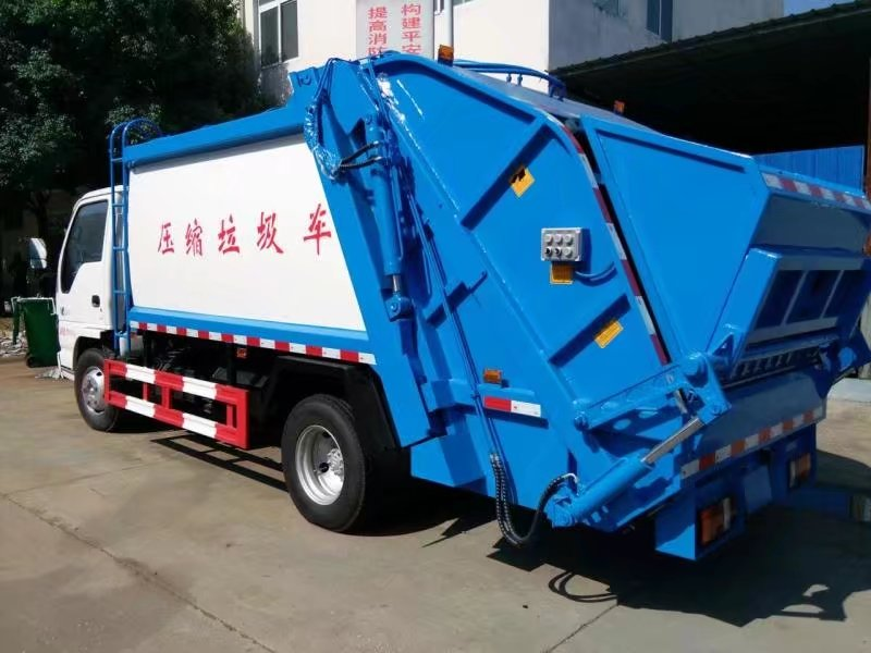 五十铃6方压缩垃圾车 垃圾车中的高端车