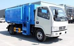 热销产品:蓝牌东风多利卡5方挂桶垃圾车