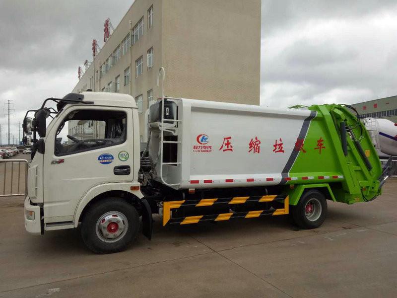 压缩垃圾车厂家加装遥控器配置图片