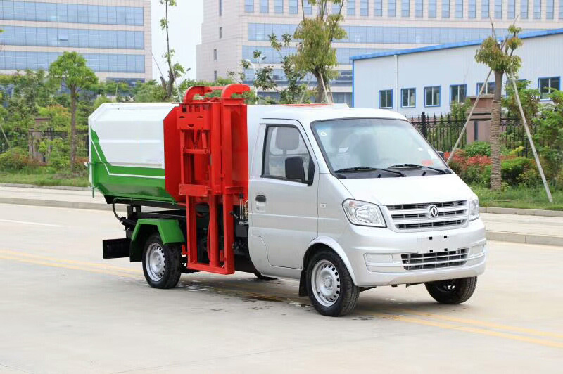 东风小康3方挂桶垃圾车(汽油)图片