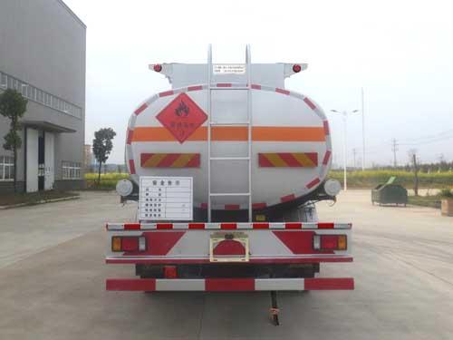 柳汽乘龙10吨加油车正后照